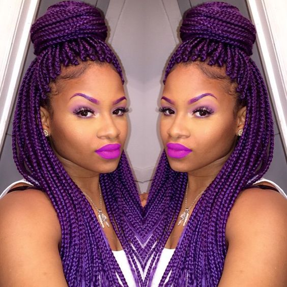 half-up-half-down-purple-braids
