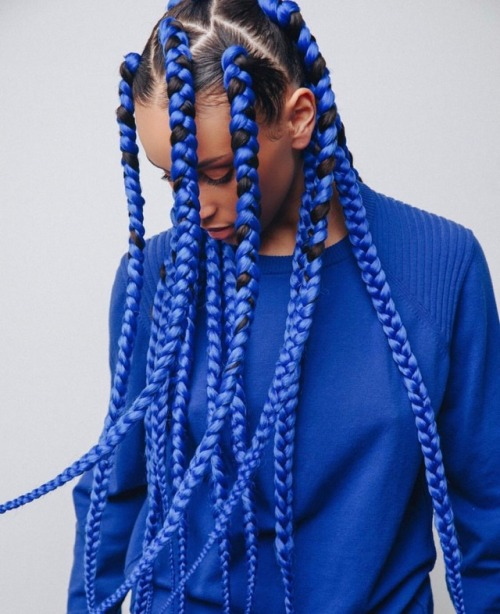6 of The Best Blue Braid Styles of 2018