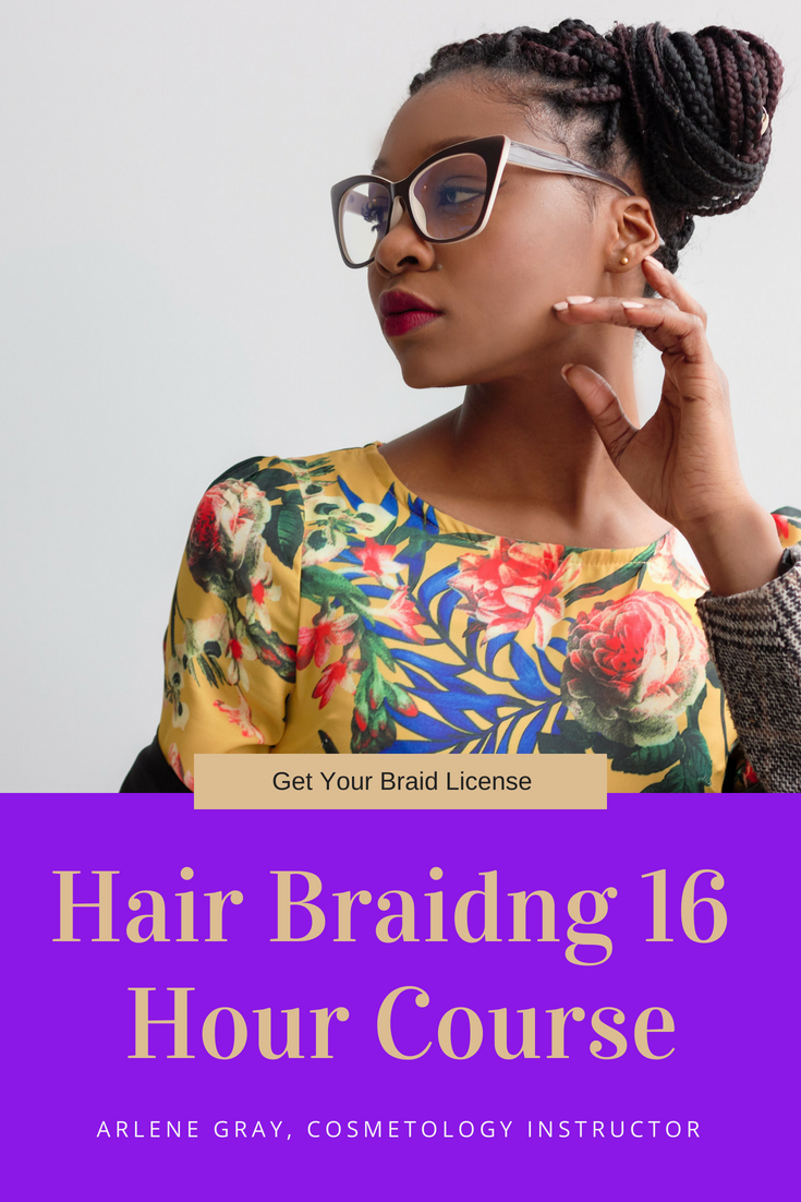 We are Florida Board of Cosmetology Approved to issue Licenses for the State of Florida. This 16 hr Hair Braiding Course provides everything you need to know to become a Licensed hair braider.
