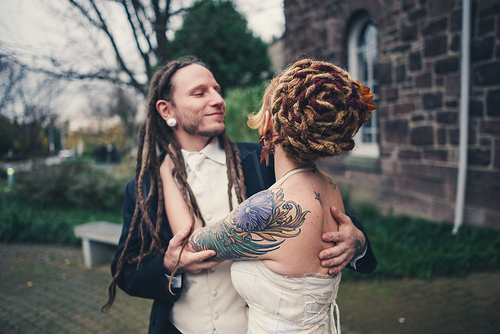 Dreadlock Hairstyles For White Brides A S Hair Salon